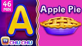 Video Food Alphabets ABC Phonics Song & Many More Nursery Rhymes & Kids Songs   ChuChu TV MP3, 3GP, MP4, WEBM, AVI, FLV Desember 2018