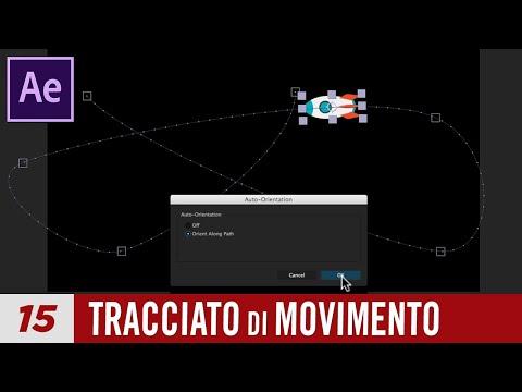 Corso After Effects - Lezione 15 - Tracciato di Movimento