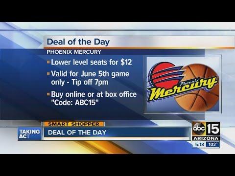 Phoenix Mercury Deal of the Day