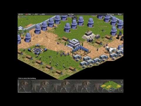 Babylon vs 7 Hardest Computers. Random Map. Age of Empires. Rise of Rome.