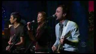 The Shins - Turn On Me (Letterman - 2007.01.23)