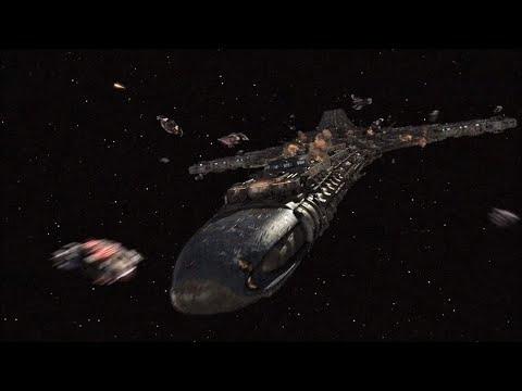 Три гигантских космических корабля направляются к Земле