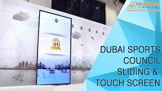 Sliding & Touch Screen - Dubai Sports Council