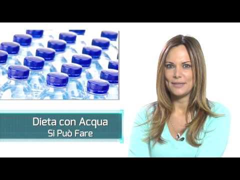 dieta dell'acqua - che cos'è e come può aiutarti a dimagrire