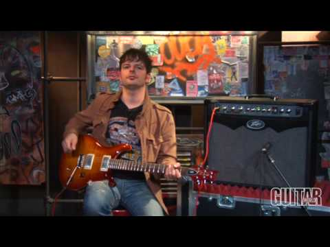 Peavey - For more gear reviews and videos check out guitarworld.com In this video Guitar World's gear editor Paul Riario demonstrates the features of the Peavey Vypyr...