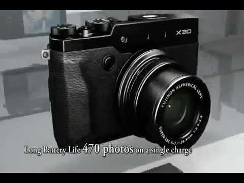 FUJIFILM X30 Compact fototoestel / Appareil photo compact - Product video Vandenborre.be