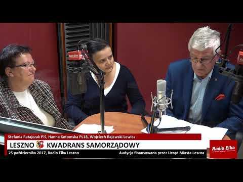 Wideo1: Leszno Kwadrans Samorządowy 25 października 2017