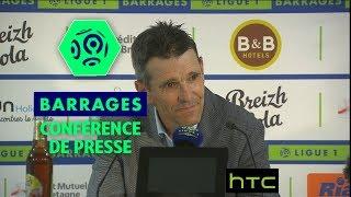Video Conférence de presse FC Lorient - ESTAC Troyes (0-0) / Barrage retour Ligue 1 (saison 2016-17) MP3, 3GP, MP4, WEBM, AVI, FLV Juni 2017