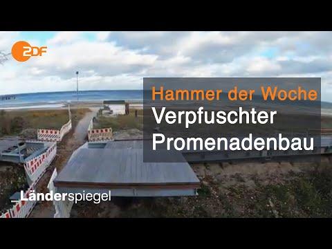 Verpfuschte Promenade in Boltenhagen | Hammer der Woche vom 21.11.20 | ZDF
