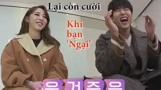 Tình bạn giữa Moonbyul (Mamamoo) và Sandeul (B1A4)