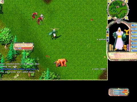 Ultima Online Gameplay | UO Mage Gameplay | Oldest MMORPG