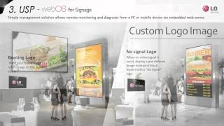 Introduction of webOS Signage