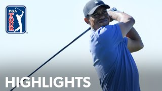 Tiger Woods shoots 3-under 69 | Round 1 | Farmers 2020 by PGA TOUR