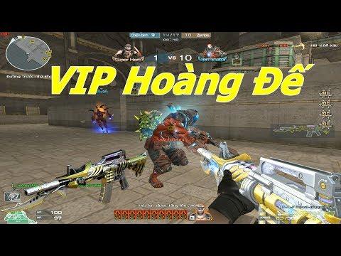 [ Bình Luận CF ] M4A1-Prime Beast-Imperial Gold ( VIP ) - Tiền Zombie v4 - Thời lượng: 10:05.