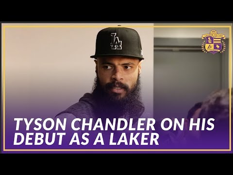 Video: Lakers Post Game: Tyson Chandler Talks About His First Game As A Los Angeles Laker