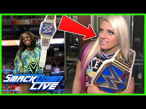 BREAKING NEWS: REAL REASON WHY NAOMI LOST THE WOMEN'S TITLE (видео)
