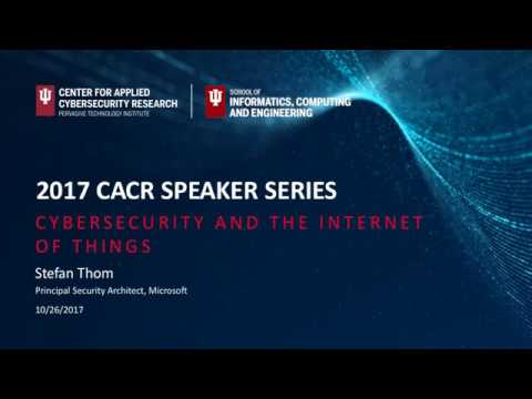 2017-18 CACR Security Speaker Stefan Thom-