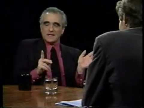 Martin Scorsese interview (Charlie Rose)