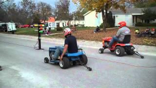 Lawnmower  Drag Racing Sumner, Mo Last Race