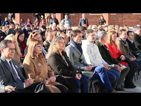 Pablo Petrecca encabezó el acto por los 100 años del Colegio Nacional