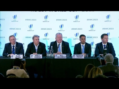 We're LIVE for the Rugby World Cup 2023 host selection announcement #RWC2023