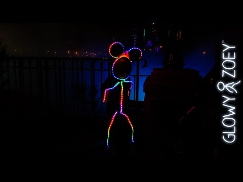 Halloween 2014 LED Halloween Costume version 20 Minnie Mouse edition for Glowy
