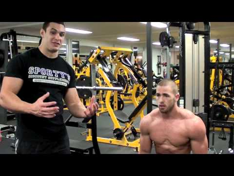 Shoulder Exercise - This is a full shoulder workout routine. View more here http://www.sportyshealth.com.au/supplement_videos.html. In this routine we demonstrate a shoulder wor...