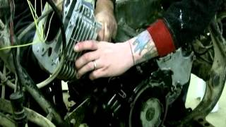 8. Installing Piston in Yamaha with 2 People