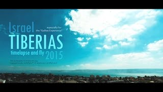 Tiberias Israel  city photo : Timelapse and fly to Tiberias. Israel © 2015