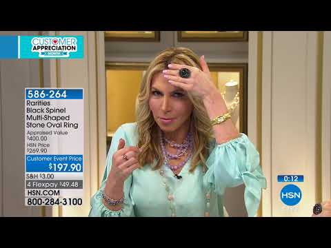 HSN | Rarities Fine Jewelry with Carol Brodie 04.04.2018 - 06 PM