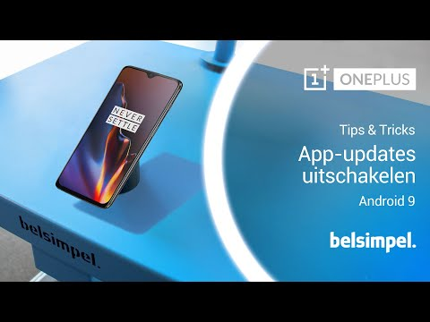 Tips & Tricks – OnePlus Android 9: app-updates uitschakelen