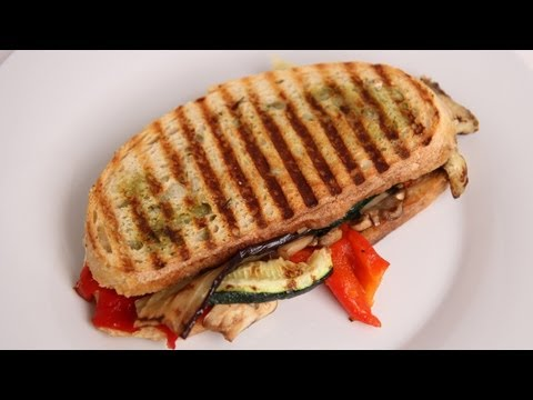 panini - To get this complete recipe with instructions and measurements, check out my website: http://www.LauraintheKitchen.com Official Facebook Page: http://www.fac...