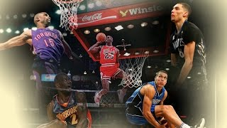 Video Top 10 Best NBA All Star Dunk Contest Dunks - ALL TIME (1984 - 2016) MP3, 3GP, MP4, WEBM, AVI, FLV Juli 2019