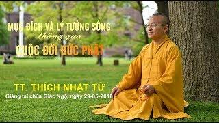 Mục đích và lý tưởng sống thông qua cuộc đời đức Phật - TT. Thích Nhật Từ