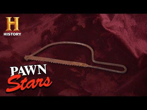 Pawn Stars: CHUM CUTS A DEAL FOR AMPUTATION SAW (Season 8)   History