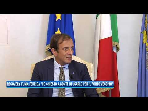 11/09/2020 - RECOVERY FUND: FEDRIGA 'HO CHIESTO A CONTE DI USARLO PER PORTO VECCHIO'