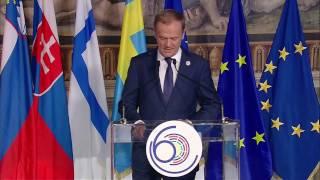 Donald Tusk wygłosił naprawdę mocne przemówienie na szczycie EU w Rzymie
