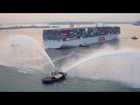 OOCL Hong Kong - самый большой контейнеровоз в мире... пока что