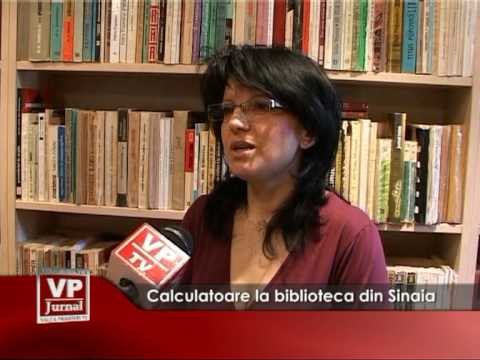 Calculatoare la biblioteca din Sinaia