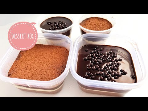 NO-BAKE DESSERT BOX | Cheese & Chocolate Mousse