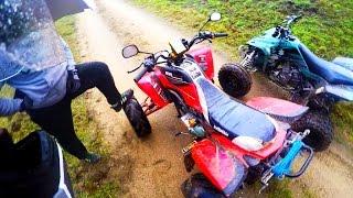 5. Yamaha blaster + Bashan 200cc - Observations adventures #5 - Przygody podczas jazdy quadem
