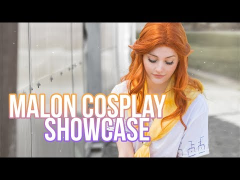 The Legend of Zelda - Ocarina of Time - Malon Cosplay Showcase