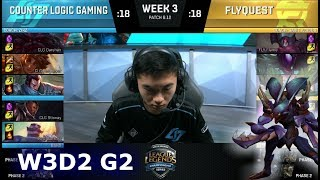 Video CLG vs FlyQuest   Week 3 Day 2 S8 NA LCS Summer 2018   CLG vs FLY W3D2 MP3, 3GP, MP4, WEBM, AVI, FLV Agustus 2018