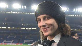 David Luiz im Interview nach dem PSG-Sieg gegen Chelsea