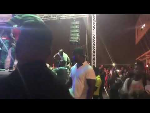 Watch Kidi's hot performance with kwesiarthur_ at Mayorkun concert in Lagos
