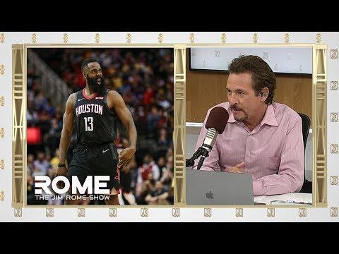 Video: James Harden DROPS a 50 pts Triple-Double   The Jim Rome