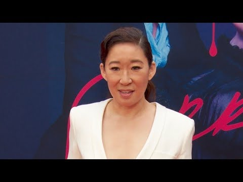 Sandra Oh, Jodie Comer & Fiona Shaw at the Killing Eve Season 2 Premiere