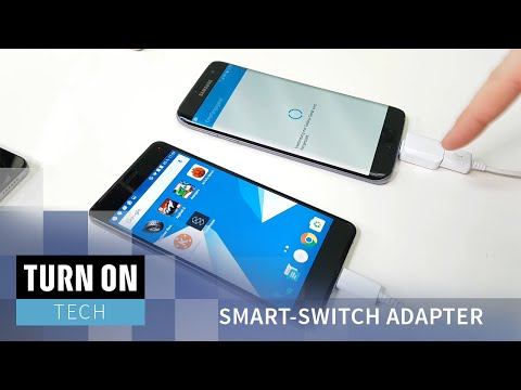 Samsung Galaxy S7 - Datenübertragung per Smart-Switch Adapter