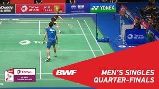 Video MS | SHI Yuqi (CHN) [3] vs CHOU Tien Chen (TPE) [7] | BWF 2018 MP3, 3GP, MP4, WEBM, AVI, FLV Oktober 2018