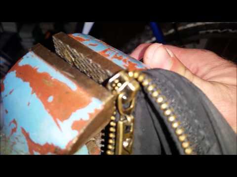 Fix a Zipper Reißverschluss selber reparieren Tutorial www.sperrauf.de Schlüssel Sheriff